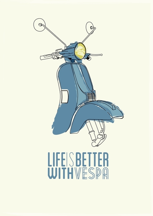 life is better with vespa wetterhorn